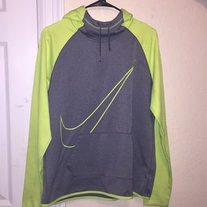 Jackets & Blazers - yellow and gray Nike hoodie